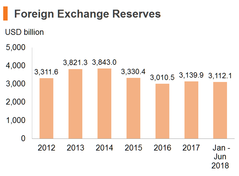 Chart: Foreign Exchange Reserves