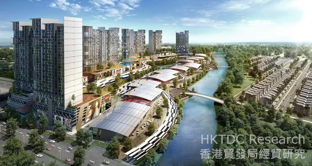 Photo: Iskandar Malaysia: Malaysia's primary southern development corridor.