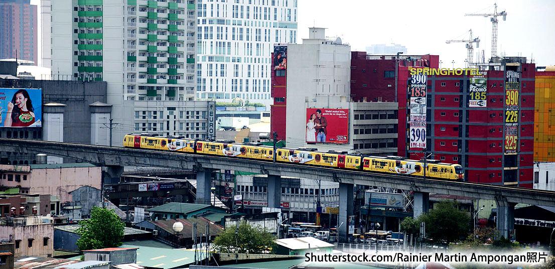 照片:菲律賓獲「一帶一路」資金以改善全國鐵路系統。(Shutterstock.com_Rainier Martin Ampongan)