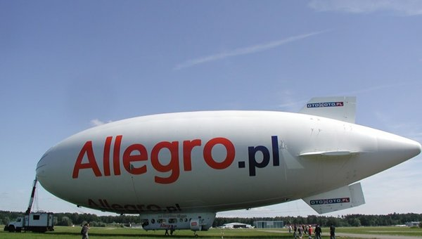 Photo: Allegro: The Polish eBay likely to be brought down to earth by a heightened AliExpress presence.