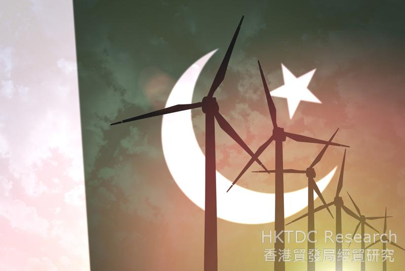 Photo: A big blow to Pakistan's energy shortages: China-backed wind farms. (Shutterstock.com)