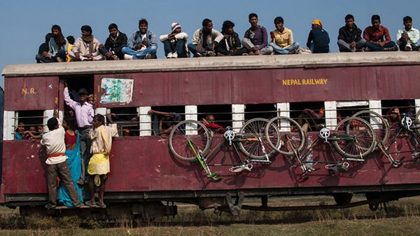 Photo: Nepal Railways: Possibly unsuitable for high-speed, high-volume freight throughput.