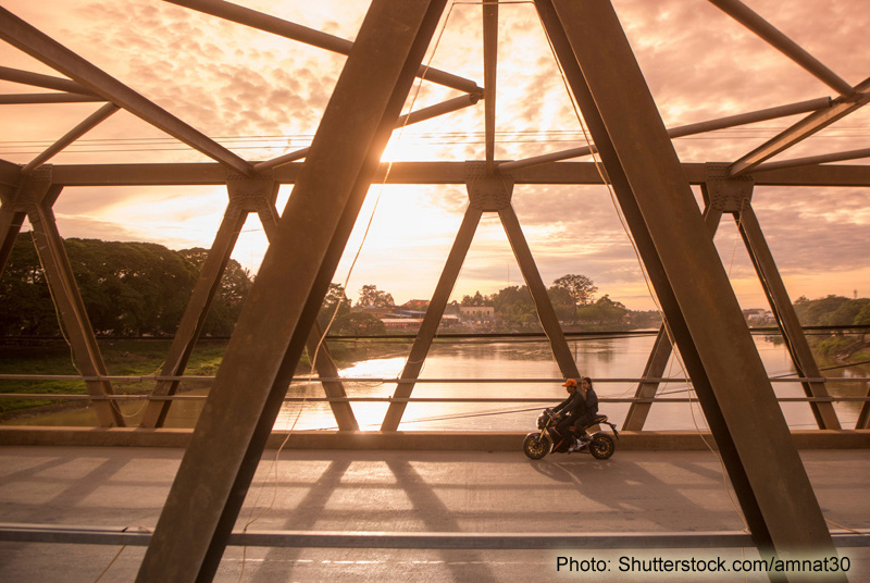 Photo: Building bridges: Construction contracts forge ever-closer Beijing-Phnom Penh links. (Shutterstock.com-amnat30)
