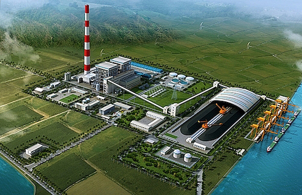 Photo: The Quynh Lap 1 Power Plant: Vital coal-fired facility set to be mainland-managed.