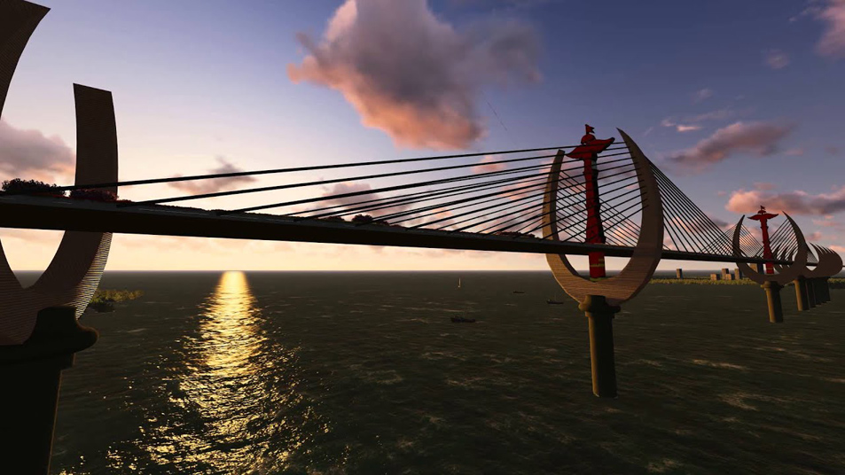 Photo: The Temburong Bridge: Set to boost Brunei's nascent tourism sector.