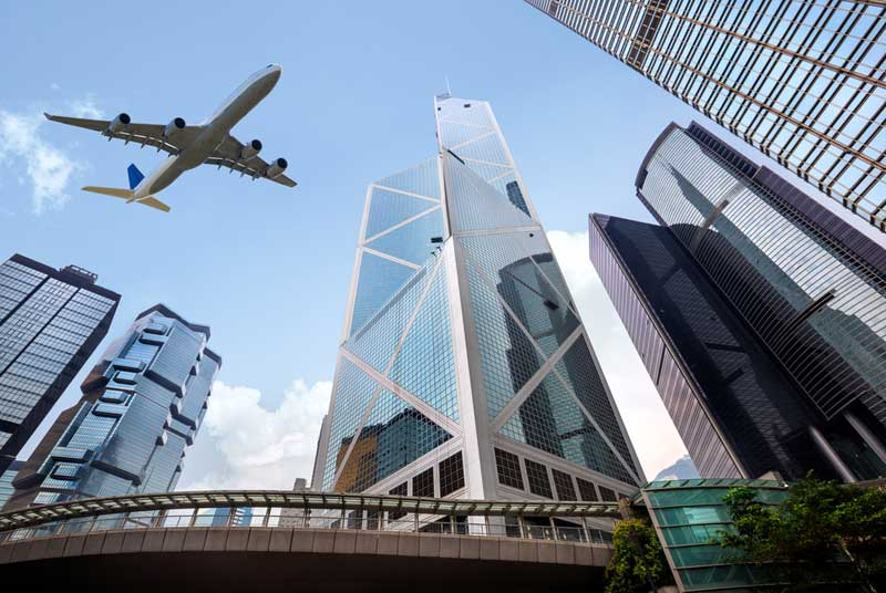 Photo: Hong Kong is the service platform for mainland enterprises in capturing Belt and Road opportunities.