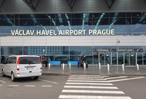 Photo: Prague Vazhar Havel International Airport: The newest member of the EU's newest member airport.