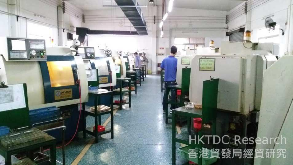 Photo: Modern Precision's automated production line (1).