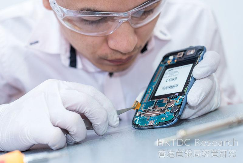Photo: Many Chinese companies are eager to enhance the connections of their operations from R&D to after-sales service.