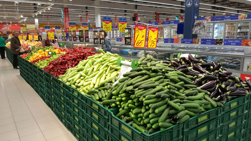 Photo: Georgian fresh produce is popular in Central and Eastern Europe.
