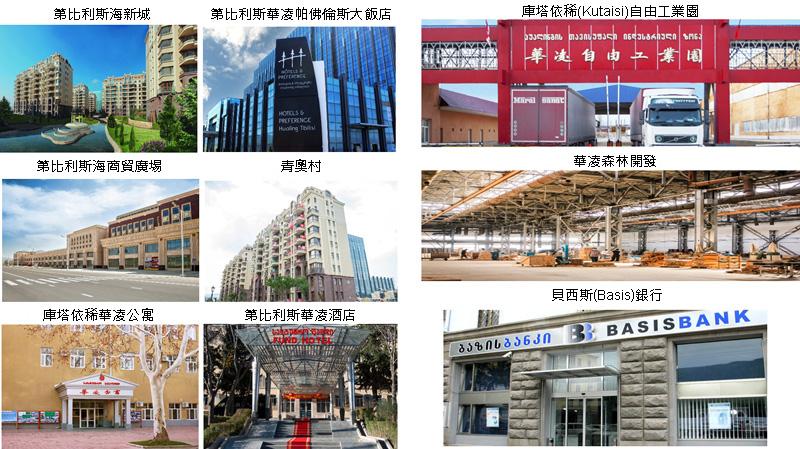 相片:中國華凌集團從2007年起在格魯吉亞投資,是該國最大的外國投資者之一。