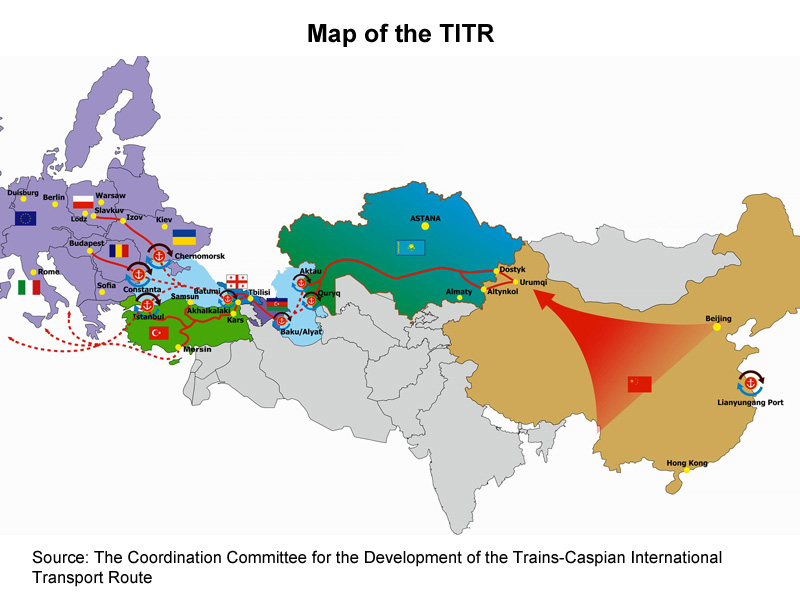 Picture: Map of the TITR