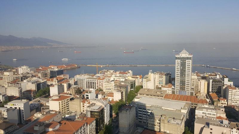 Photo: Izmir in western Turkey is a port city on the Aegean Sea.