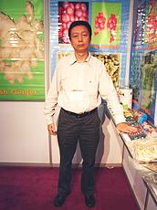 Huang:首次参加这个展会。