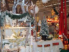 Tendence展览会展出圣诞装饰。