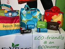 EnV Bags的环保购物袋。