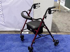 Photo: Rollator from Medline.