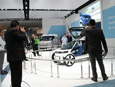 Photo: Large commitment by VW in electric power.