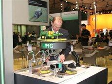 Photo: Sensor development for sustainable operations.