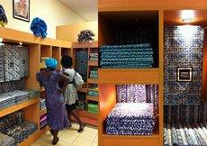 Photo: Da Viva's wax printing fabrics