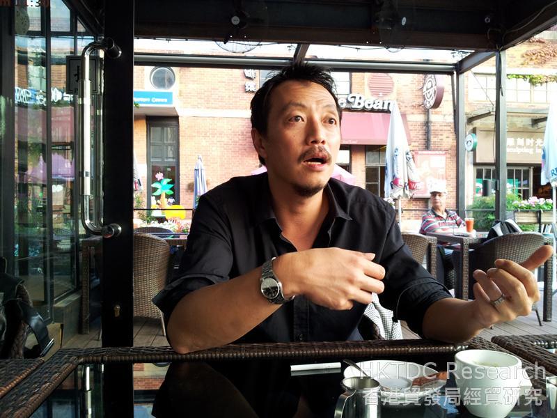 Photo: Tony S. Izumi, Executive Supervisor of Giant Eye Chinimation