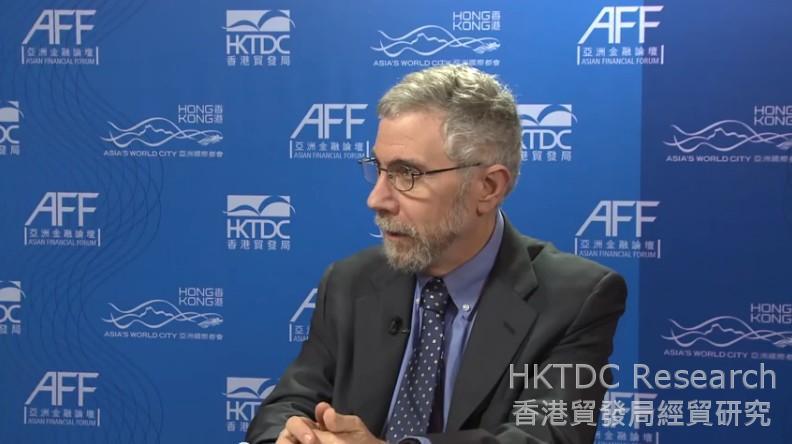 Photo: Paul Krugman, Professor of Economics and International Affairs at Princeton University