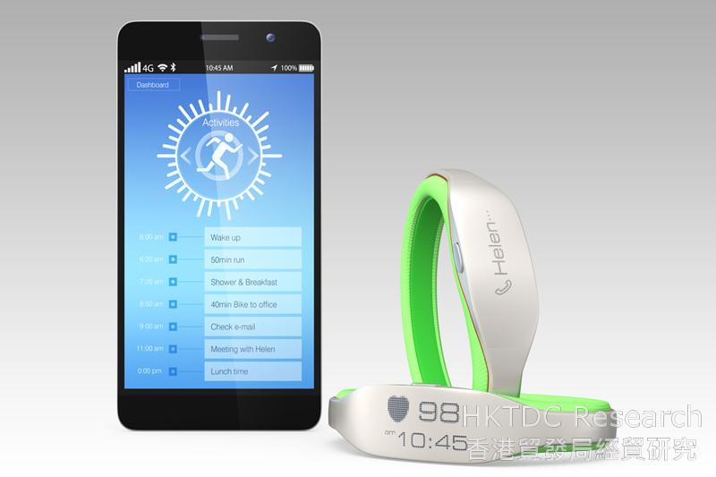 Photo: Wearable electronics are increasingly seen as must-have products.