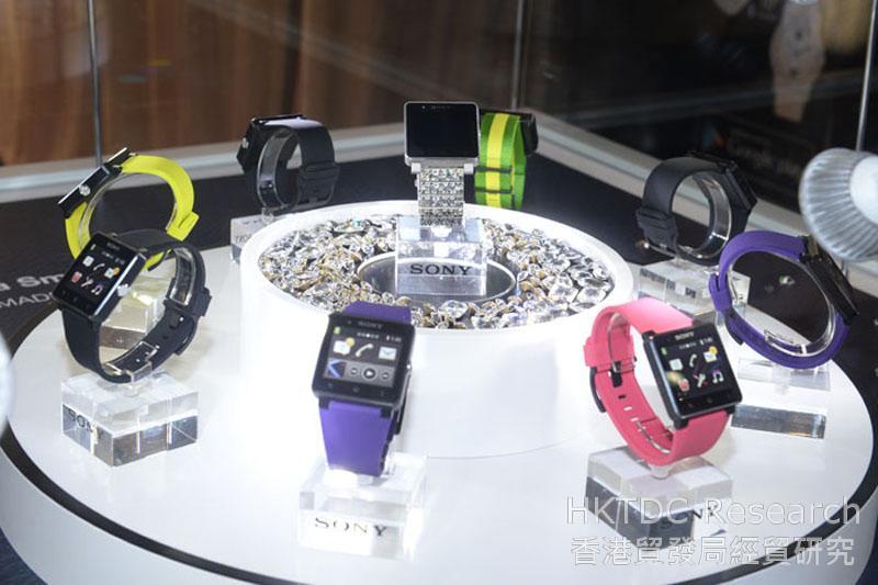 相片:穿戴式电子产品冒起成为潮流产品 (2)