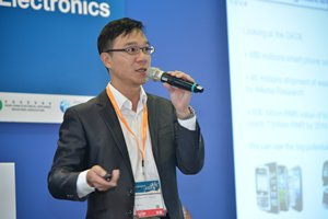 Photo: Andy Lau envisaged smart homes would be one of the major IoT application areas.