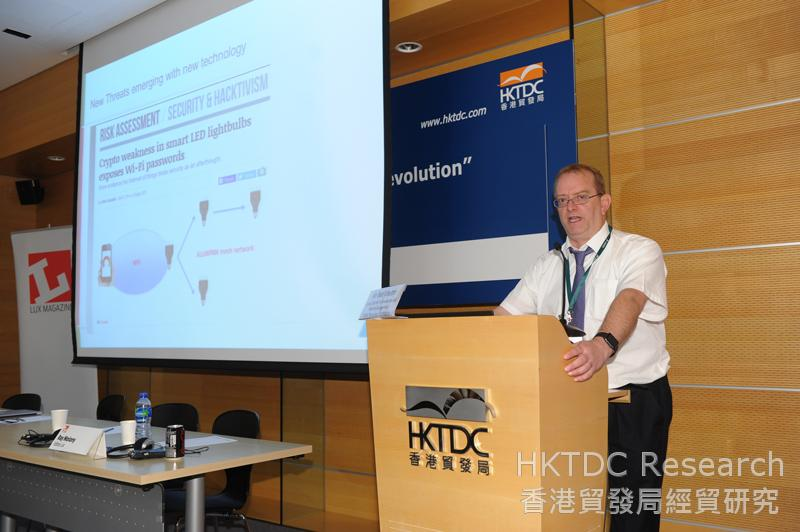 Photo: Kreuter: Cyber security is one of the challenges for the IoT industry to overcome.