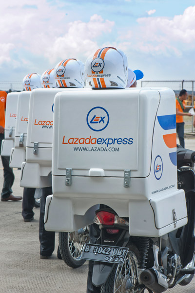Photo: Local logistic support.