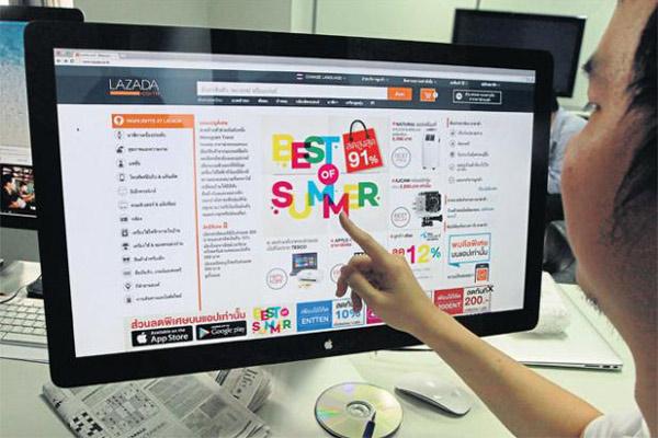 照片:Lazada把電子商貿引入東南亞。