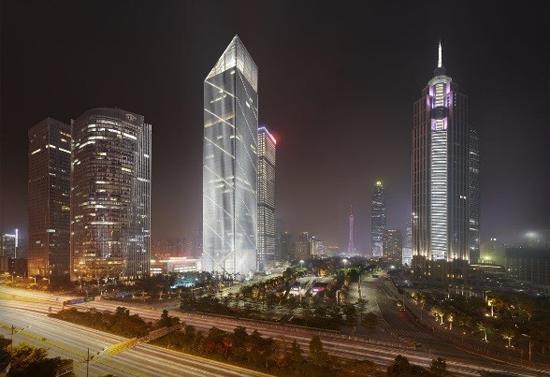 Photo: Leatop Plaza in Guangzhou. (1)