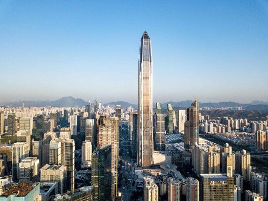 Photo: Ping An Finance Centre in Shenzhen. (1)