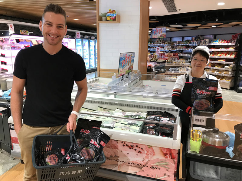 Photo: SuKarne is running a successful pilot project with a supermarket chain in Hong Kong