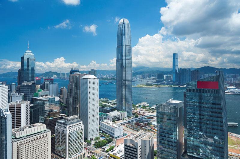 相片:香港将会受益匪浅,特别在写字楼方面,因为内地公司非常有兴趣来香港建立实体业务。