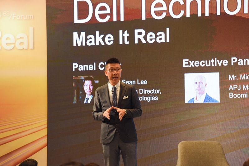 Photo: Sean Lee believes Dell Technologies' presence in GBA cities over the past 20 years.
