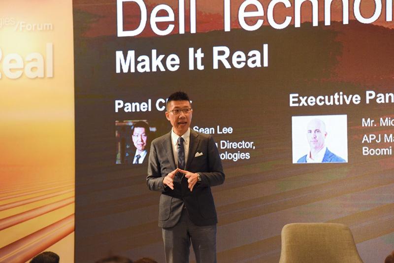 相片:李凯翔表示,过去20年来戴尔科技积极在大湾区城市经营,奠定了稳固的商业基础,得以协助客户在中国境内境外运用适切的商业渠道经营业务。