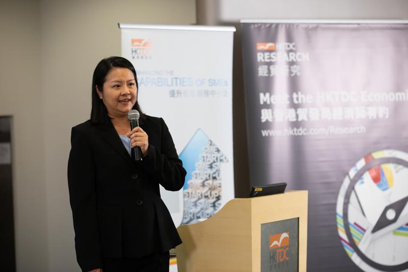 Photo: Sally Peng from US-based law firm Sandler, Travis & Rosenberg.