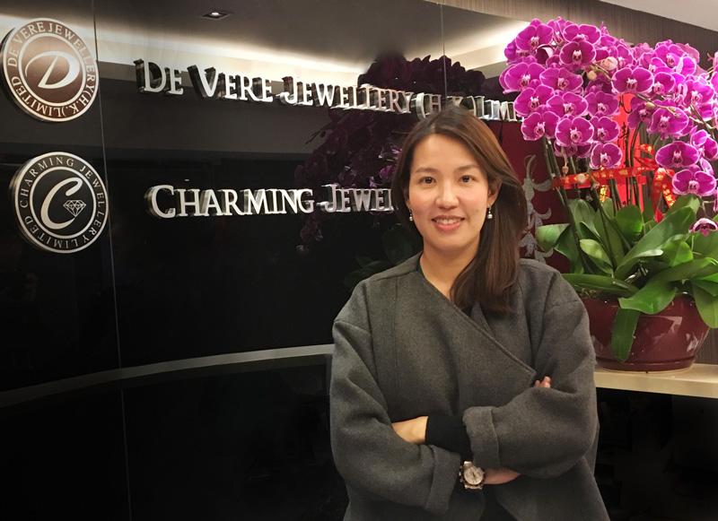 相片:香港企业家王淑筠计划把意大利巧克力引入大湾区。