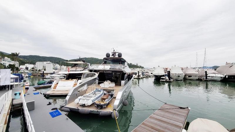相片: 香港是亚洲最成熟的游船市场。