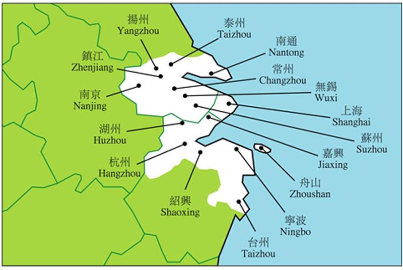 南京镇江扬州地图