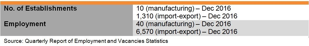 Table: Industry Features of Footwear Industry