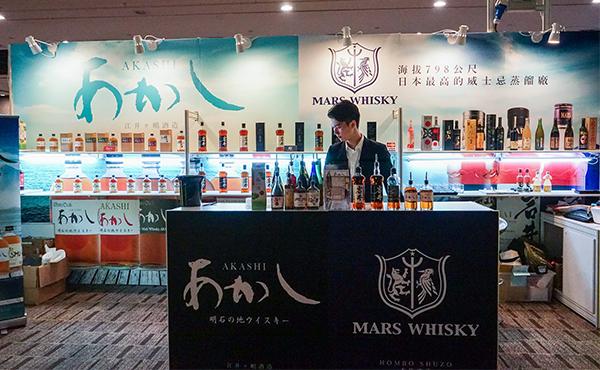 越百威士忌, 日本威士忌