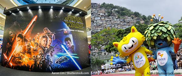 星球大战7原力觉醒, 巴西奥运