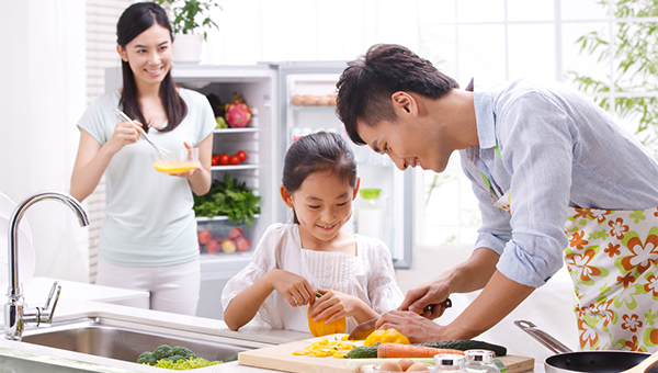 家庭厨房共用平台