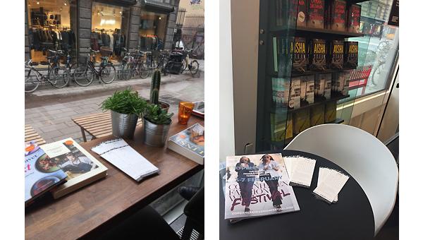 咖啡店、书店