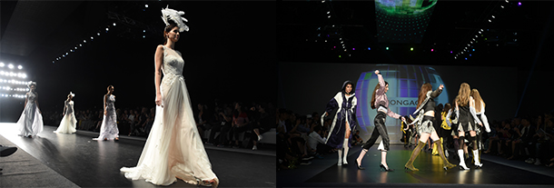 CENTRESTAGE吸引不少品牌举办时装表演