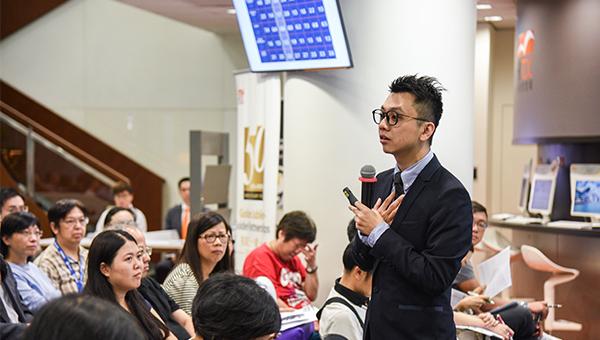 香港市务学会主席凌羽一