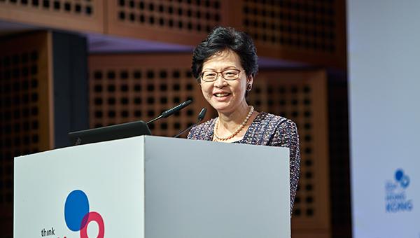 香港特区政府政务司司长林郑月娥